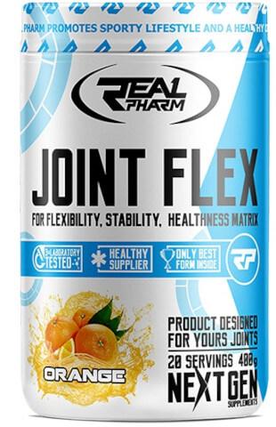 Znalezione obrazy dla zapytania real pharm joint flex 400g